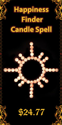 candle happiness spell
