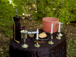 Wiccan Wedding Alter